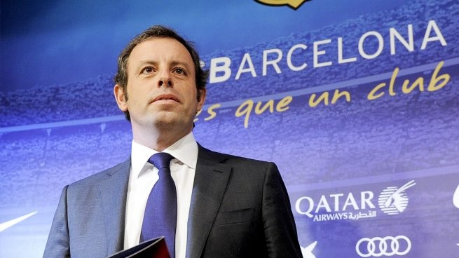 Sandro Rosell, expresidente del FC Barcelona. (Foto Prensa Libre: EFE)