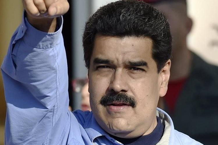 Nicolás Maduro, presidente de Venezuela. (Foto Prensa Libre: AFP).