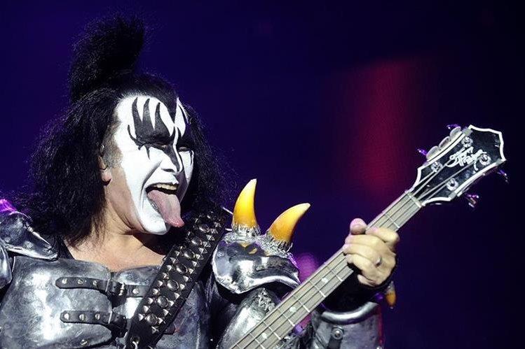 Gene Simmons destacó junto con su banda de rock estadounidense Kiss. (Foto Prensa Libre: AFP)