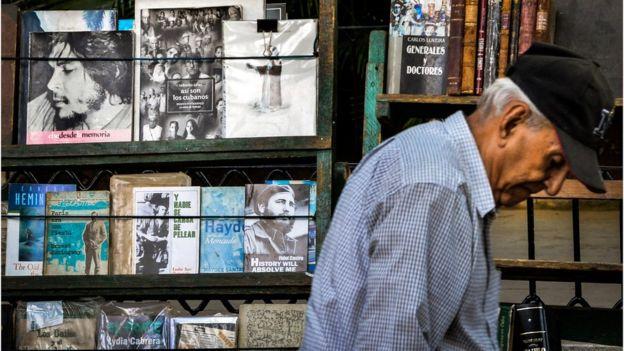 Los contactos de Dalton en La Habana no se limitaron al mundo de los libros. (AFP).