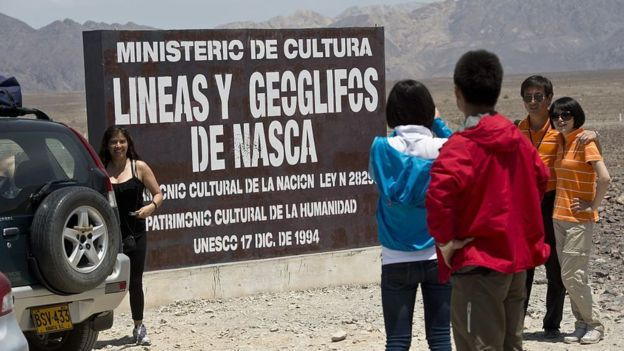 Las líneas y geoglifos de Nasca fueron declaradas patrimonio cultural de la humanidad por Unesco en 1994. GETTY IMAGES