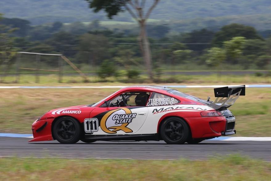 La GTS fue dominada por la dupla conformada por Gerardo Moy Gándara y José Iturbide. (Foto Prensa Libre: Cortesía Gabriel López).