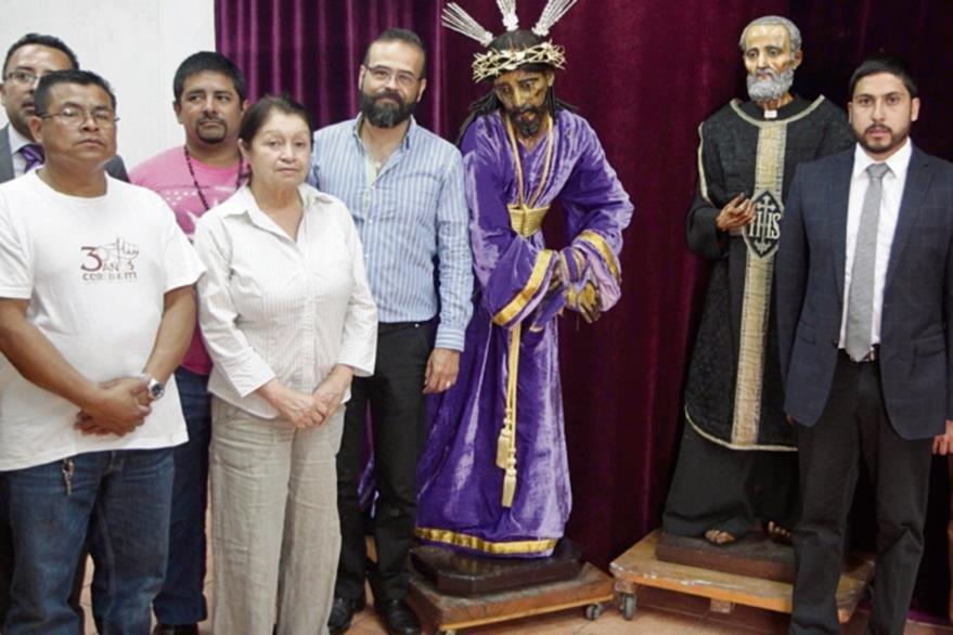 JUNTO CON  el Nazareno, la imagen de San Felipe Neri, del siglo XVII, también será remozada.