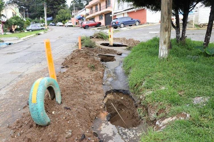 Los trabajos de reparación iniciarían mañana para concluir el viernes. (Foto Prensa Libre: María Longo)