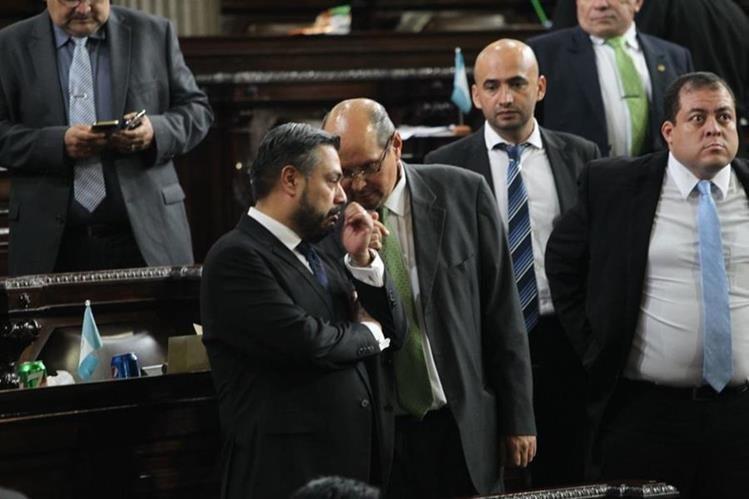 Diputados aprobaron de urgencia nacional reformas al delito de financiamiento electoral ilícito. (Foto Prensa Libre: Jessica Gramajo)