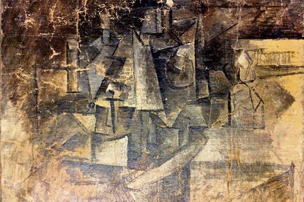 La obra La Peluquera, de Pablo Picasso fue hallada en Estados Unidos.