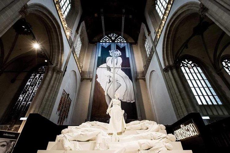 Una exposición de Monroe se puede visitar en Holanda. (Foto Prensa Libre: AFP)