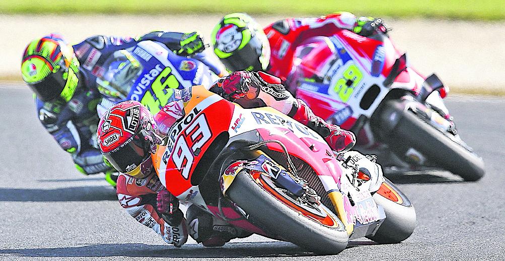 El campeón italiano considera que Marc Márquez, piloto de Honda que perdió a finales de septiembre. (Foto Prensa Libre: Hemeroteca PL)