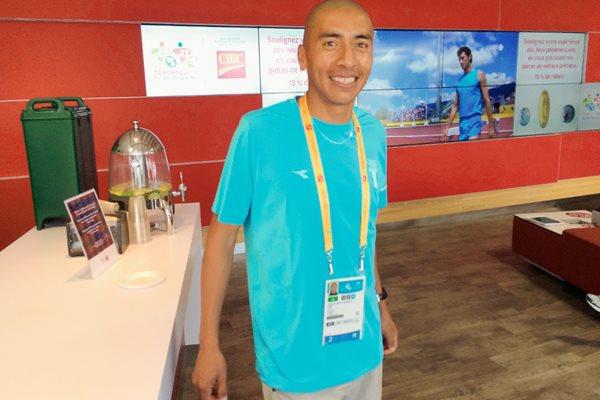 José Amado espera subir al podio este sábado. (Foto Prensa Libre: Cortesía COG)