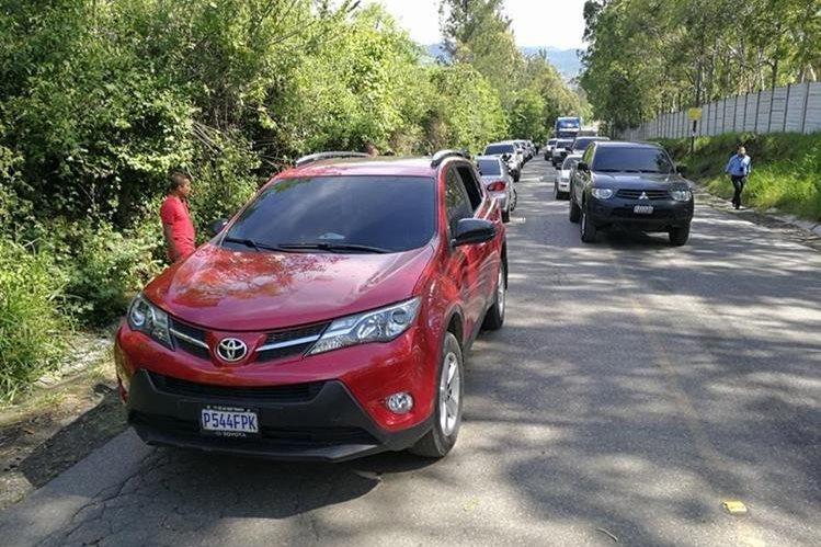 La abogada fue secuestrada cuando conducía este vehículo. (Foto Prensa Libre: Hemeroteca PL)