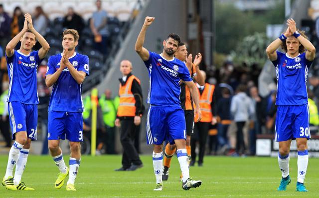 El equipo del Chelsea cambiará de marca de ropa para la próxima temporada. (Foto Prensa Libre: AFP)