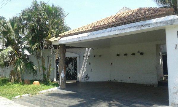 Casa de descanso extinguida a la hija de Byron Lima, en Escuintla. (Foto Prensa Libre: Cortesía MP)