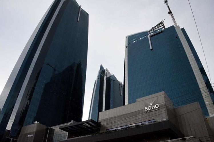 Vista del centro comercial Soho Mall, del grupo Waked. (Foto Prensa Libre: AFP)