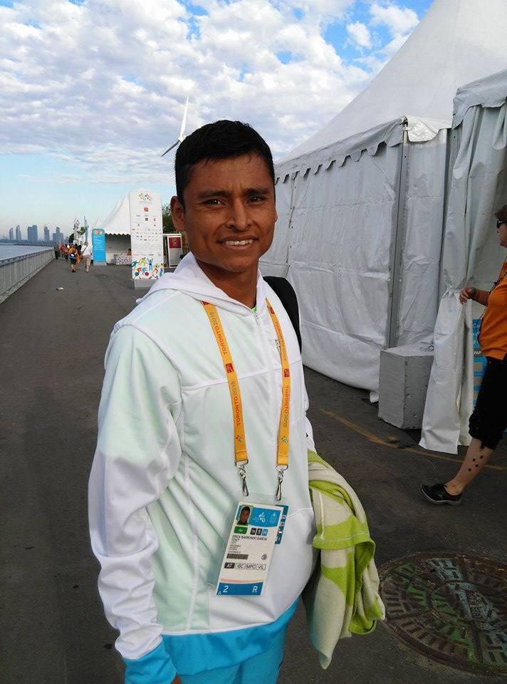 Érick Barrondo peleará el próximo domingo por las medallas en los 50km. (Foto Prensa Libre: COG)