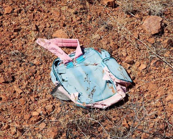 Una mochila que transportaba las pertenencias de un indocumentado. (Foto: Taringa.net).