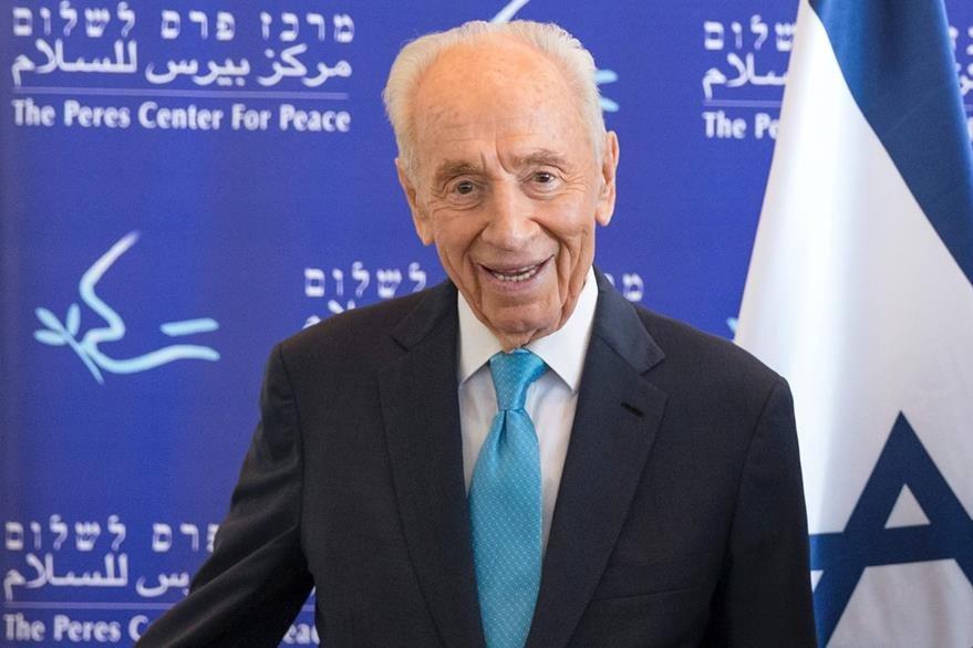 Shimón Peres, político israelí y padre fundador. (Foto Prensa Libre: AFP)