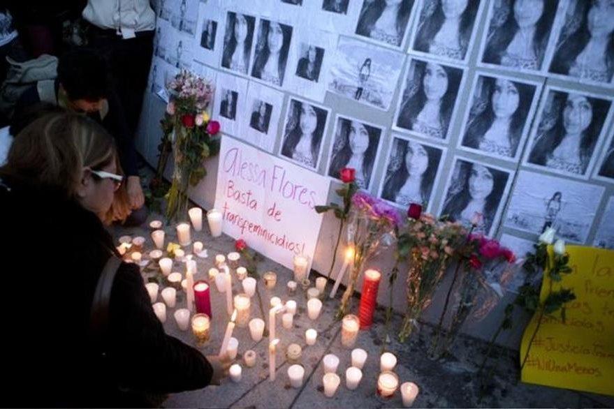 A Alessa Flores, una activista transgénero, la hallaron muerta el 14 de octubre en un hotel de Ciudad de México.AP