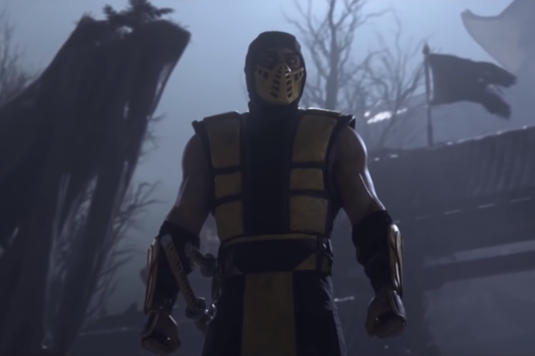 Classic Scorpio is the main character of a trailer of Mortal Kombat 11 (Photo Prensa Libre: YouTube / Netherrealm Studios).