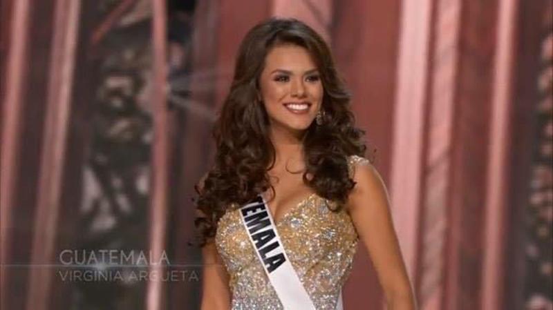 Virginia Argueta quiere destacar en el certamen y obtener la corona para Guatemala. (Foto Prensa Libre: Tomada de facebook.com/OfficialMissGuatemala)