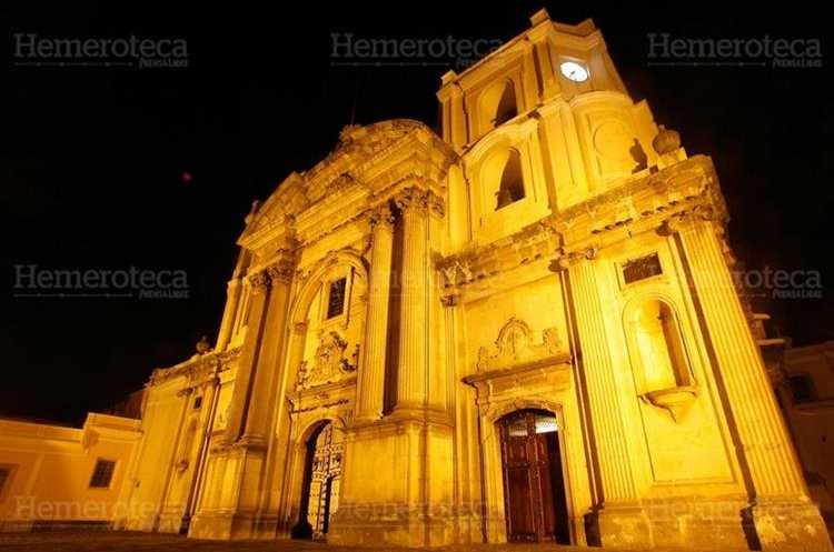 Fachada del templo de la Merced. (Foto: Hemeroteca PL)
