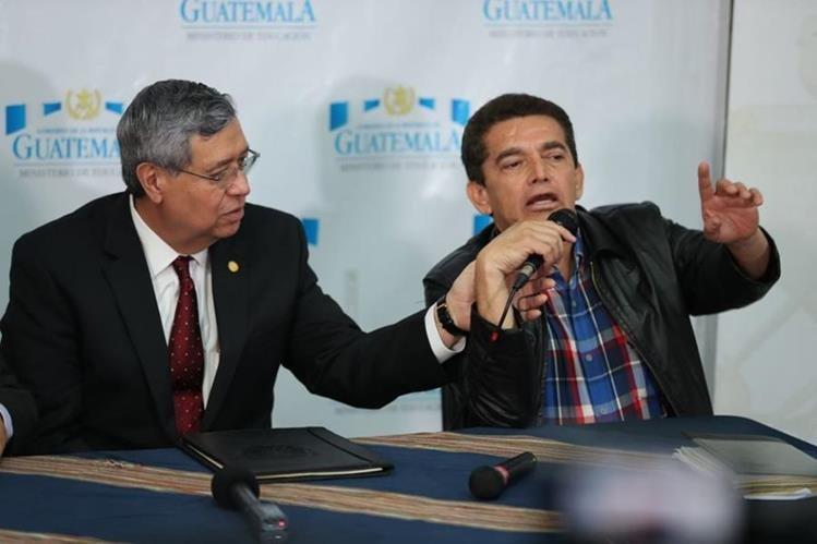 El nuevo Pacto Colectivo debe ser evaluado por la PGN, el Mintrab y el Minfin. (Foto Prensa Libre: Esbin García)