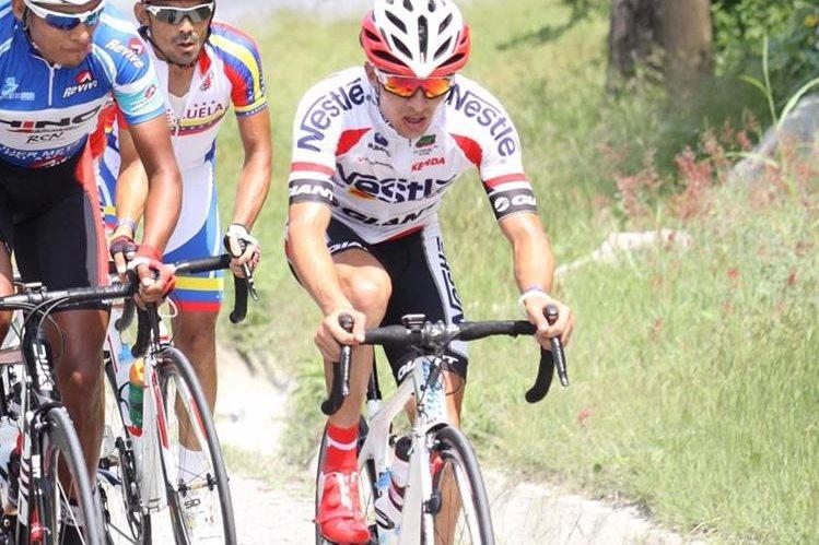 Villalobos está motivado de cara a las próximas etapas de la Vuelta. (Foto Prensa Libre: Norvin Mendoza)