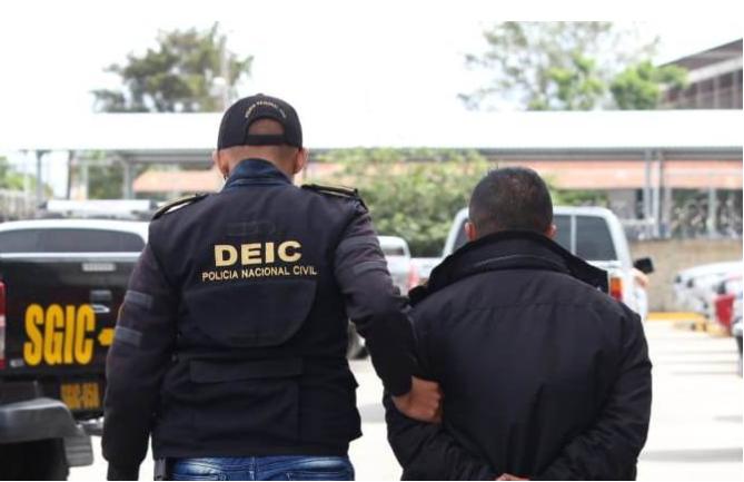 Marco Vinicio Diéguez Herrera, alias el Capi, fue detenido en junio último en Sacatepéquez.(Foto Prensa Libre: Hemeroteca PL)