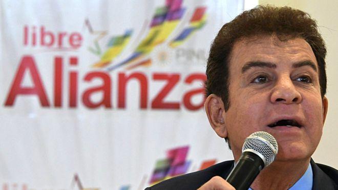 """Salvador Nasralla, también conocido como """"el señor de la televisión"""", lo tiene claro: él es el nuevo presidente de Honduras. (Getty Images)."""