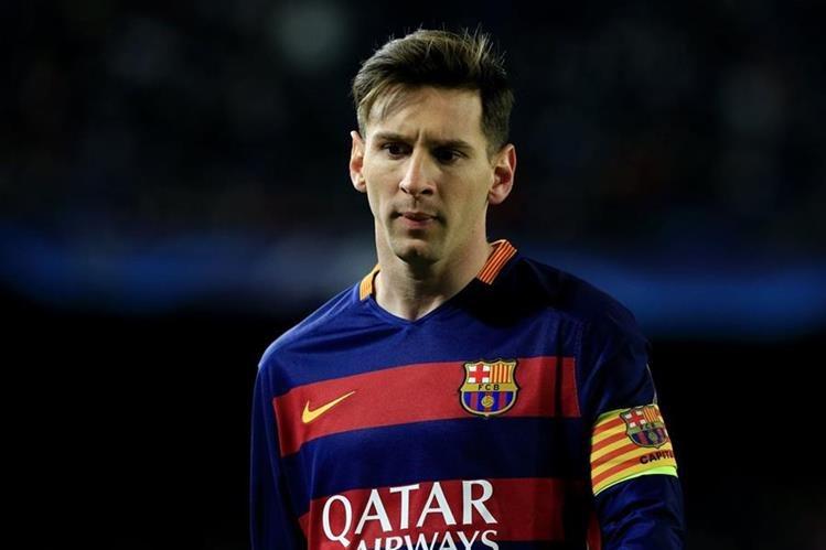 El argentino Lionel Messi es el máximo astro del FC Barcelona y se ha convertido en el principal objetivo del Manchester City. (Foto Prensa Libre: AFP)