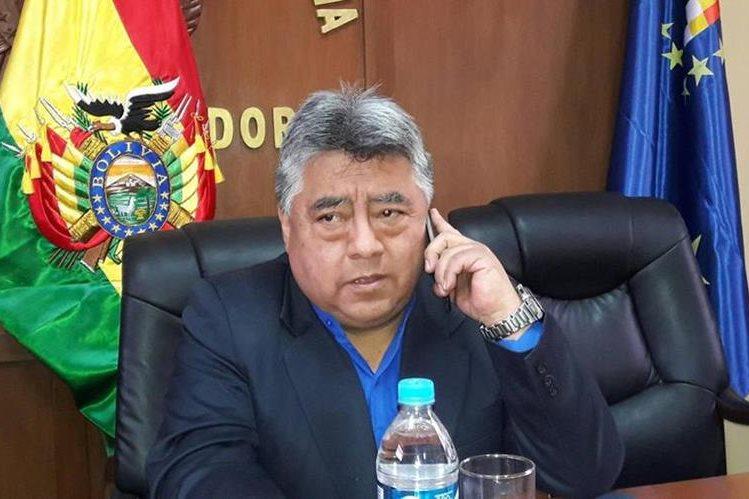 Imagen de archivo del viceministro de Régimen Interior, Rodolfo Illanes, quien habría muerto el jueves. (Foto Prensa Libre: EFE).