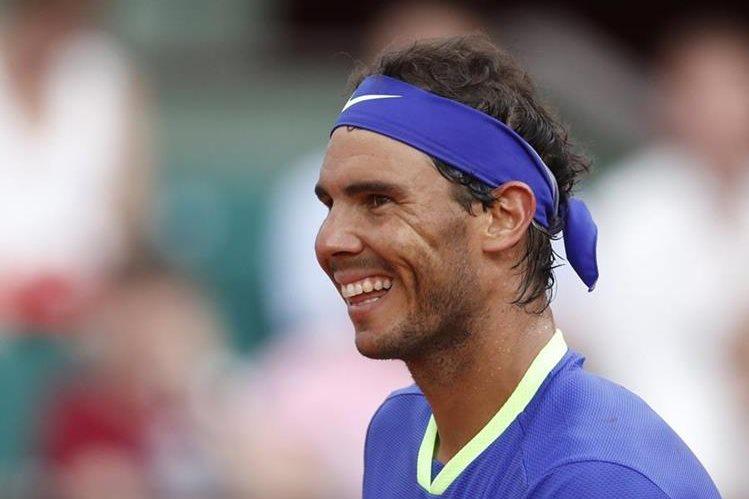 Rafael Nadal es un fiel seguidor del Real Madrid y el sábado vivió la final a flor de piel. (Foto Prensa Libre: AP)