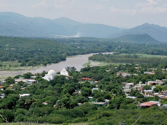 Desde la parte alta de El Cerrón hay una vista panorámica de San Cristóbal Acasaguastlán, El Progreso.  (Foto Prensa Libre: Héctor Contreras)