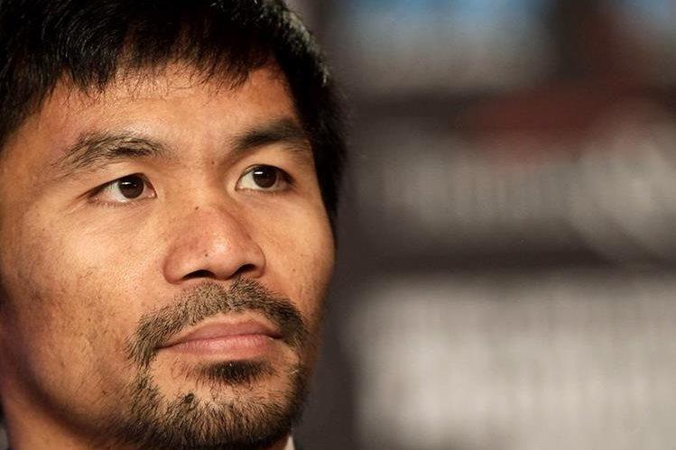 Manny Pacquiao asegura que está listo para seguir en el boxeo. (Foto Prensa Libre: AFP)