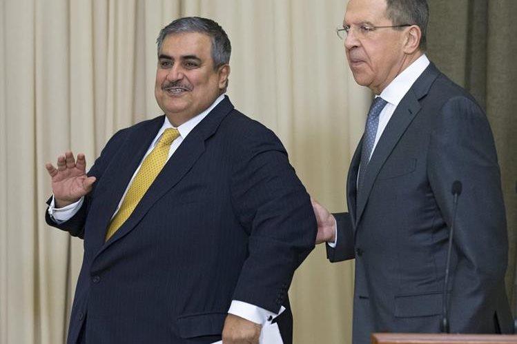 El ministro de Exteriores ruso, Serguéi Lavrov, (derecha) pide honestidad a EE.UU.( Foto Prensa Libre: Hemeroteca PL)
