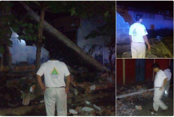 México reporta varios daños por sismo. (Foto: Twitter)