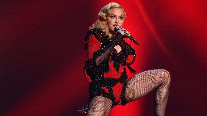 El show de Madonna se censuró para los menores de 18 años. (Foto Prensa Libre: Hemeroteca PL)