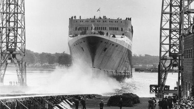 Salió a la mar el 20 de septiembre de 1967. EVENING STANDARD