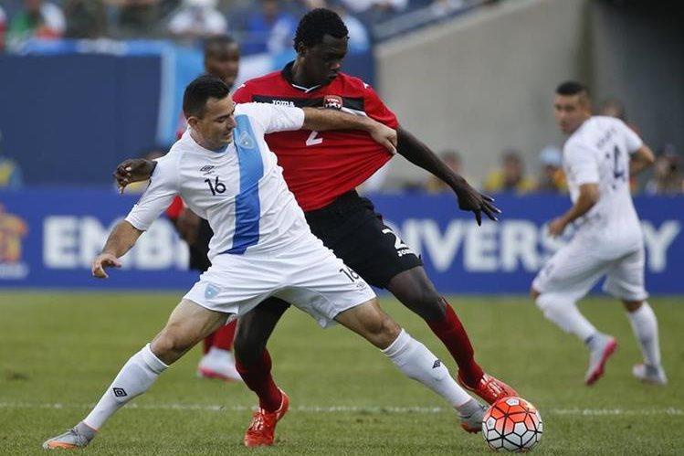 Marco Pablo Pappa fue titular en dos encuentros de la Bicolor en Copa Oro. (Foto Prensa Libre: EFE)