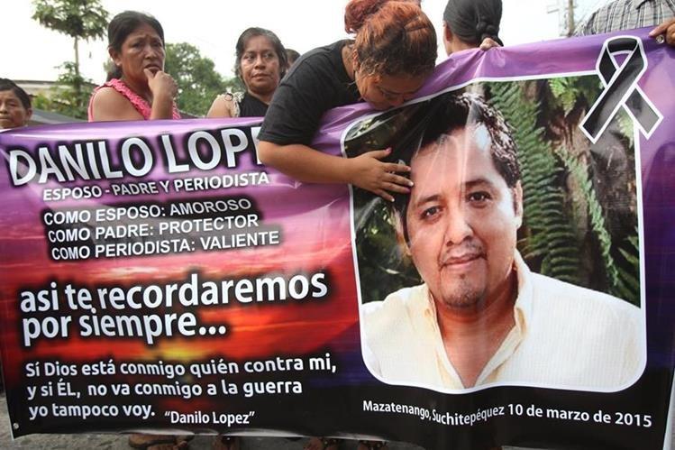 El crimen contra los periodistas Danilo López y Federico Salazar pusieron ante las autoridades el nombre del presunto narcotraficante Manfredo Cordón, alias el Morado. (Foto Prensa Libre: Hemeroteca)