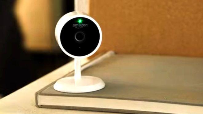 Esta es la cámara que usará el nuevo servicio de Amazon. AMAZON