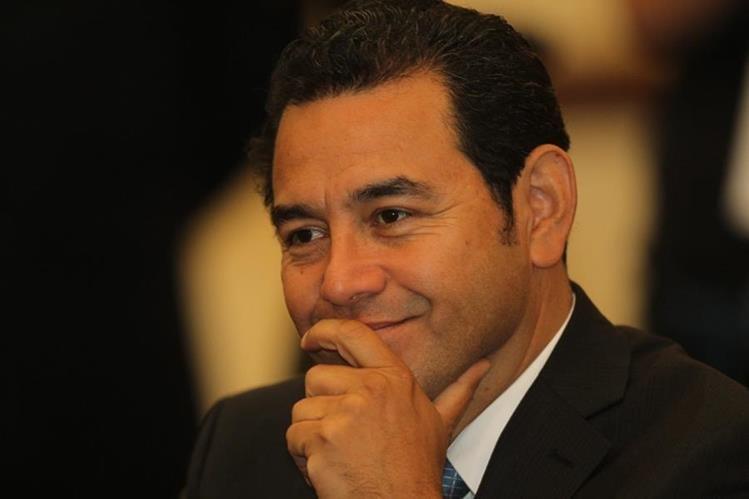 Jimmy Morales, candidato presidencial por el partido FCN-Nación. (Foto Prensa Libre: Hemeroteca PL)