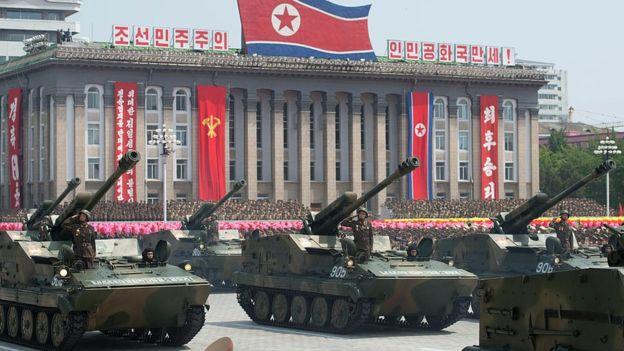 El ejército de Corea del Norte es el cuarto más grande del mundo. GETTY IMAGES