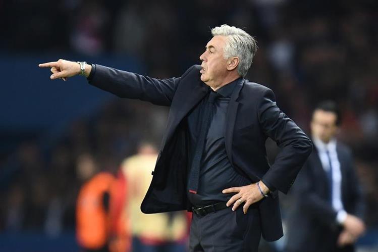 Carlo Ancelotti valoró el desempeño del Bayern Múnich contra el París Saint Germain. (Foto Prensa Libre: AFP)