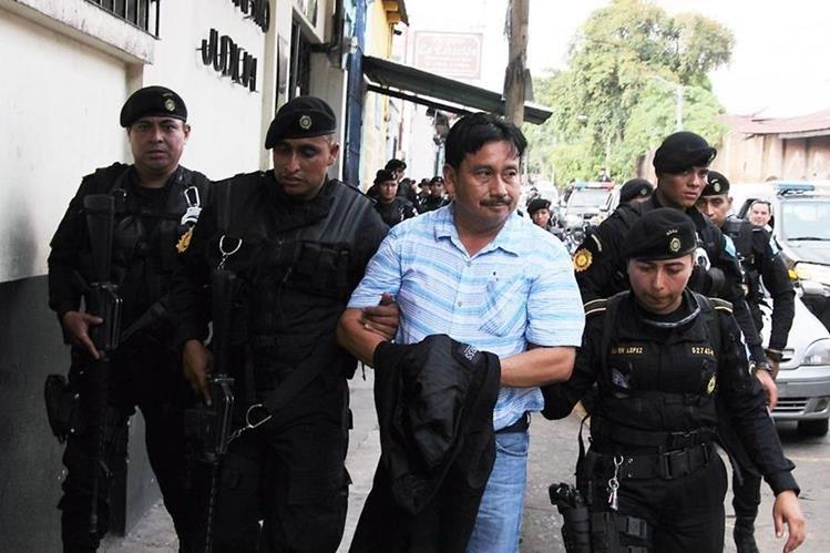 Jorge Alberto Rizzo Moran, fue detenido el viernes señalado de los delitos de Lavado de dinero, peculado y abuso de autoridad. (Foto Prensa Libre: Hemeroteca PL)