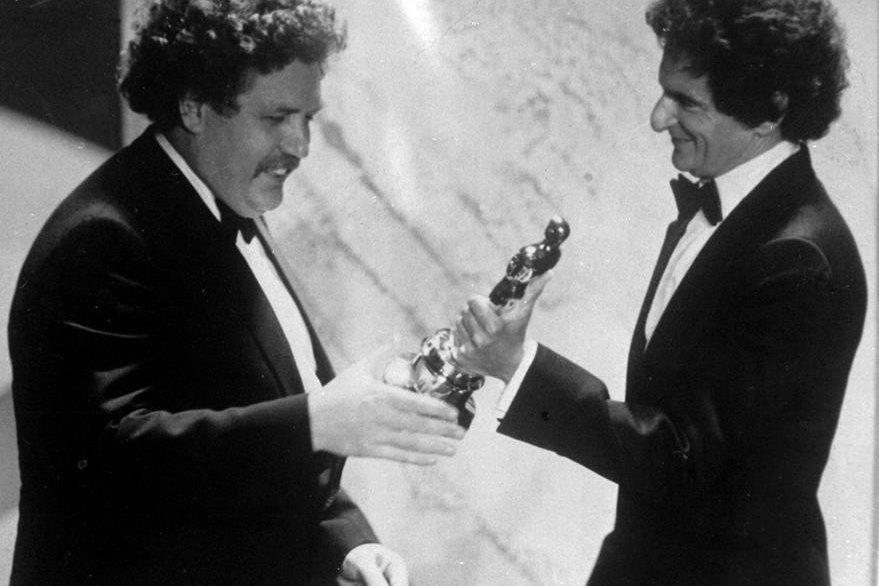 Colin Welland obtuvo el Óscar en 1982 por el guión del filme Chariots of Fire. (Foto Prensa Libre: AP)