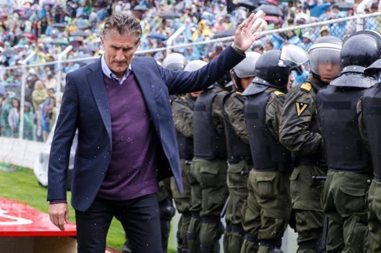 Edgardo Bauza fue separado del cargo de la dirección técnica de Argentina. (Foto Redes Sociales).