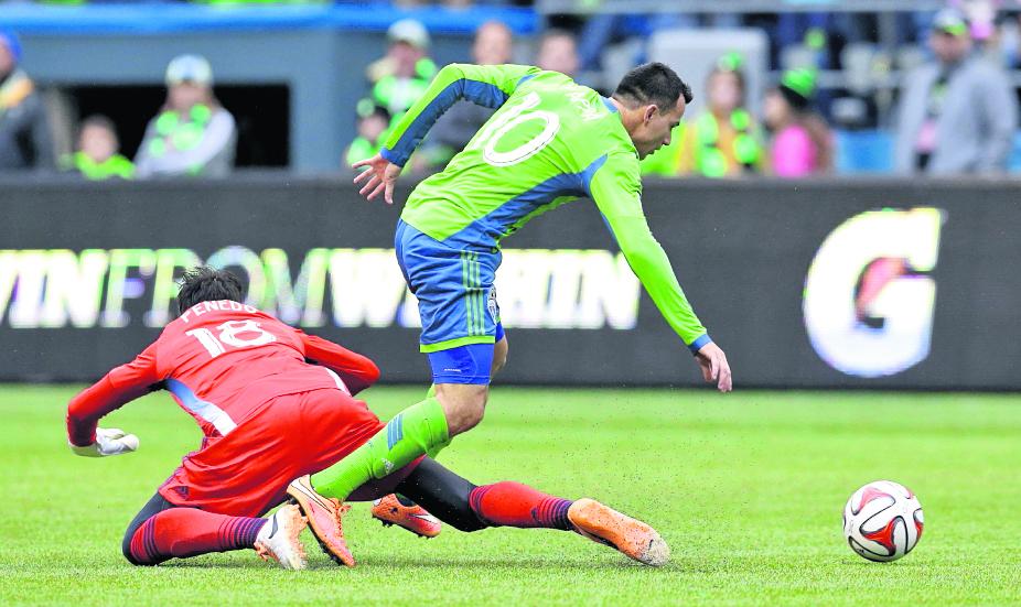 Marco Pappa no continuará en el Seattle Sounders de la MLS. (Foto Prensa Libre: HemerotecaPL).