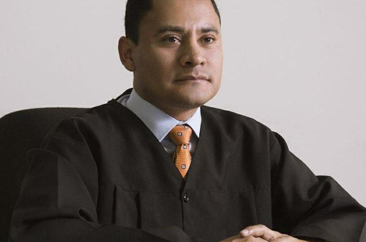 El juez Carlos Ruano denunció a Stalling en 2016. (Foto Prensa Libre)
