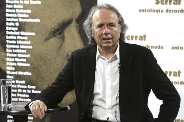 <p>Joan Manuel Serrat lanzó recientemente la producción Antología desordenada. (Foto Prensa Libre: EFE)</p>