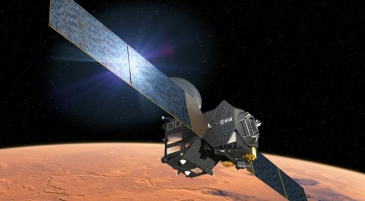 Existe la esperanza de encontrar rastros de materias orgánicas que hayan existido en Marte. (Foto: Twitter).